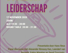 (Nederlands) Round Table 17 november: Duurzaam Leiderschap